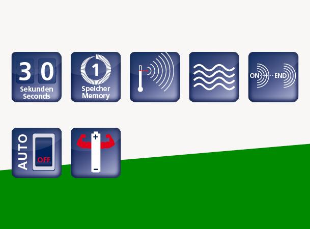 Domotherm TH1 Color: Icons zur Erklärung