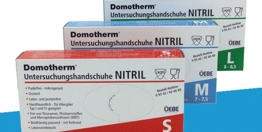 Domotherm Nitril Handschuhe